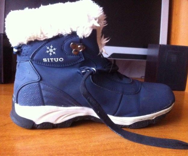 Зимние ботинки. Фото 1. Магнитогорск.