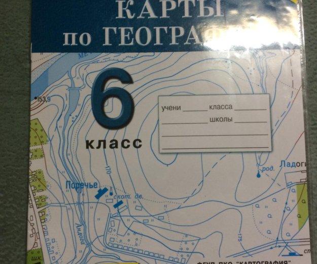 Контурные карты по географии 6 класс. Фото 1. Волжский.