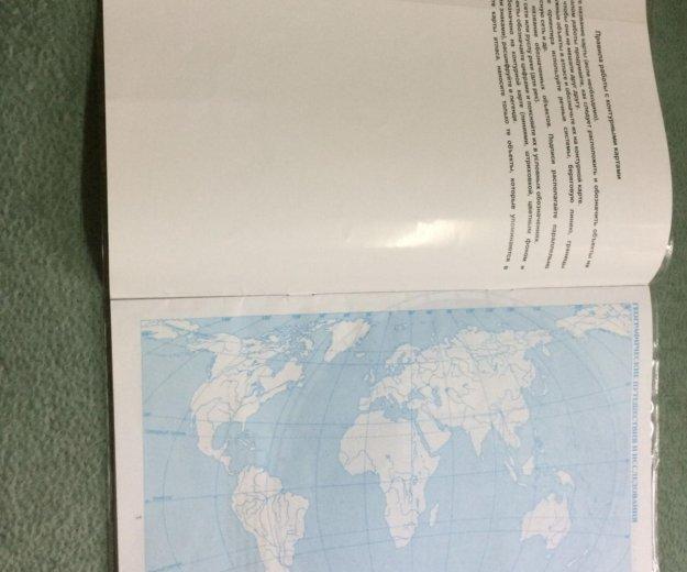 Контурные карты по географии 6 класс. Фото 2. Волжский.