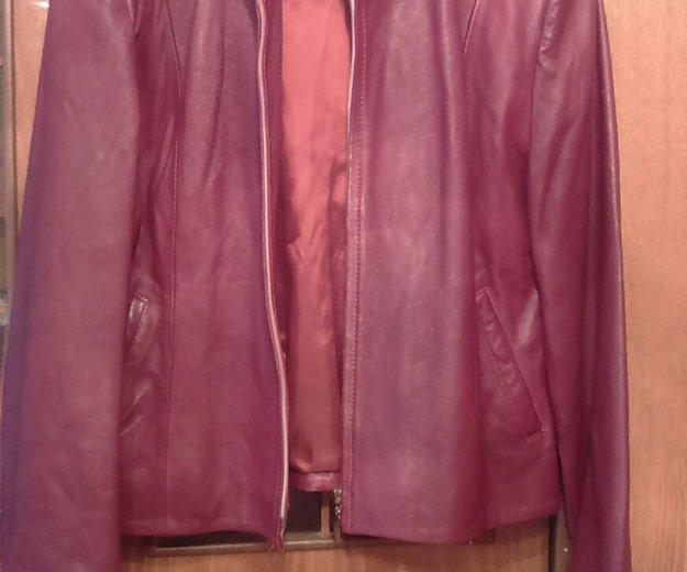 Куртка кожа. Фото 1.