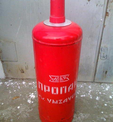 Газовый пропановый балон 50л. Фото 1. Астрахань.