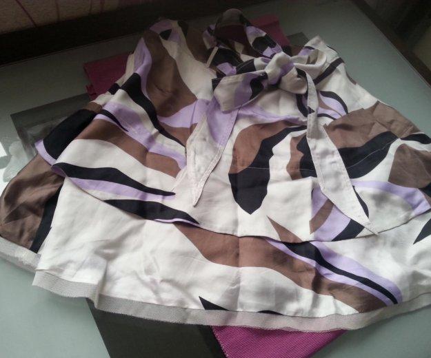 Брендовая шелковая юбка   diesel   оригинал. Фото 1.