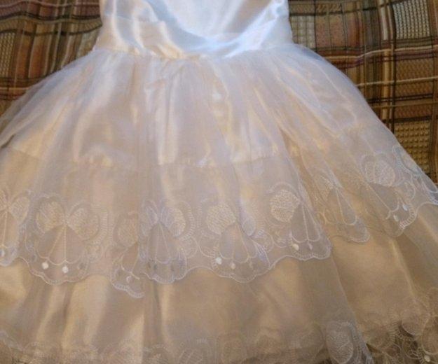 Платье детское праздничное на девочку р. 116. Фото 1. Троицк.