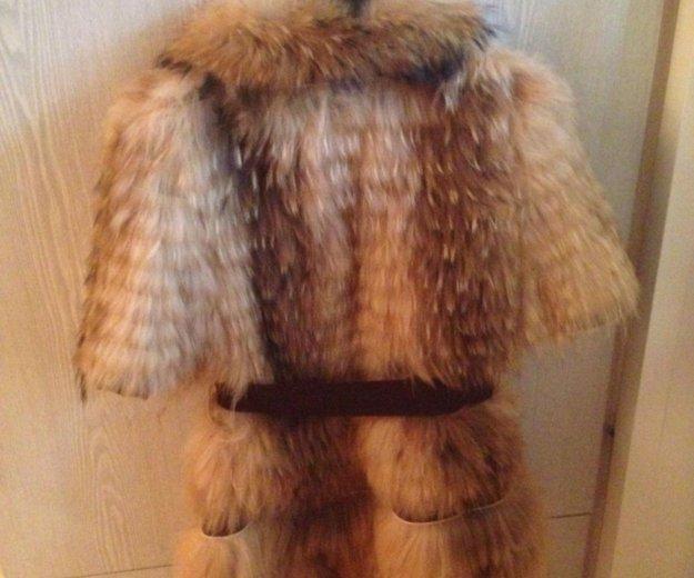 Меховая жилетка. Фото 2.