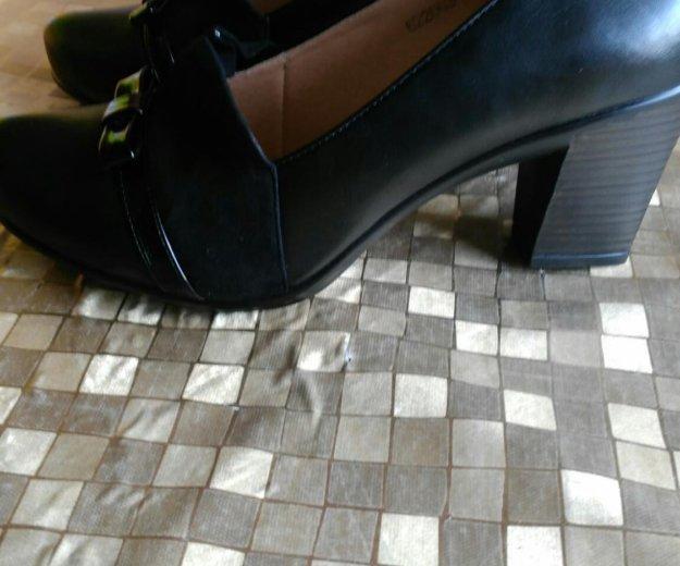 Туфли кожа женские р.40. Фото 2. Москва.