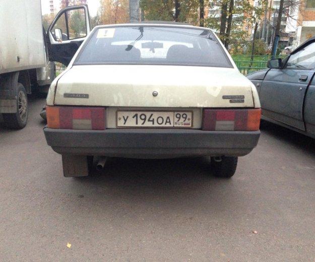 Ваз 21099. Фото 4. Москва.
