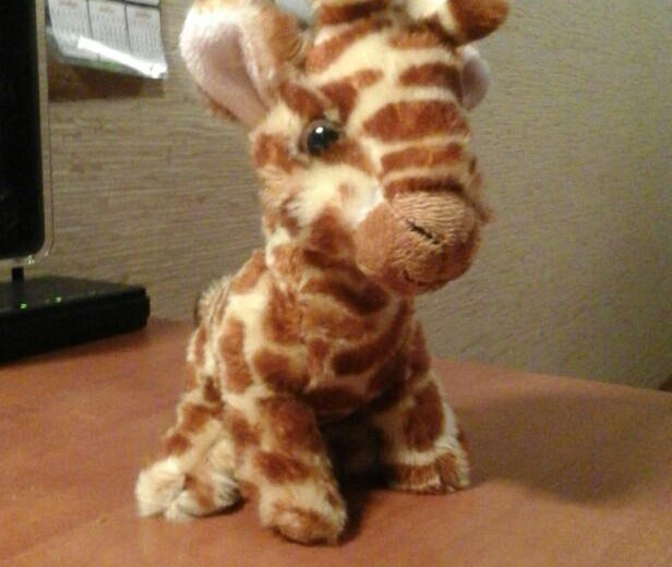 Мягкая игрушка жираф. Фото 4. Новокузнецк.