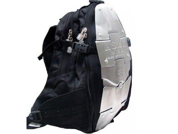 Рюкзак a.s.m.k. с металическими пластинами. Фото 2. Москва.