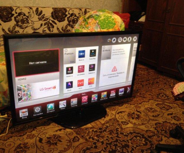 Lg 127см 50ph470u smart tv 3d. Фото 1.