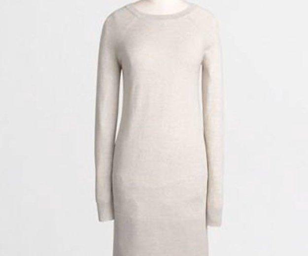 Новое тёплое платье-свитер j.crew / xxs. Фото 1. Дубровка.