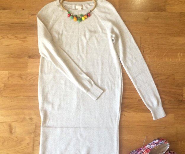 Новое тёплое платье-свитер j.crew / xxs. Фото 3. Дубровка.
