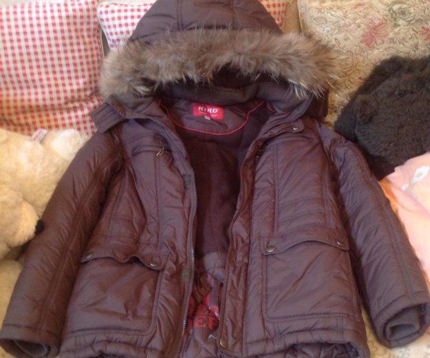 Куртка зимняя с капюшоном на мальчика. Фото 4. Москва.