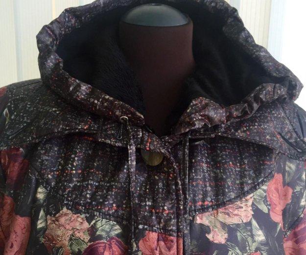 Пальто зимнее, новое, 54/56 размер. Фото 2. Сочи.