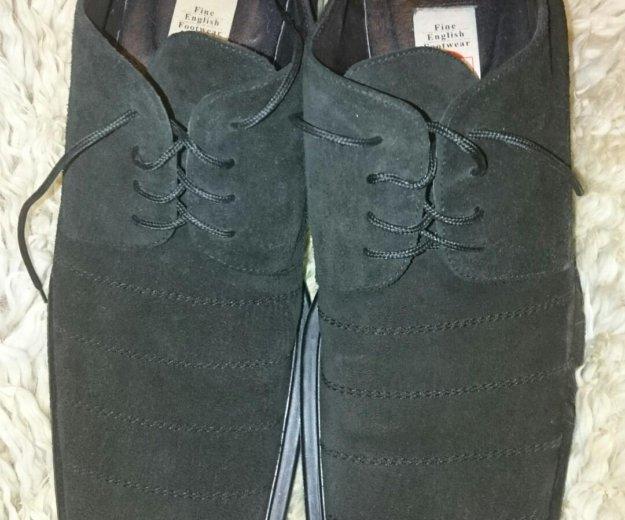 Английские ботинки натуральная кожа. Фото 3. Москва.