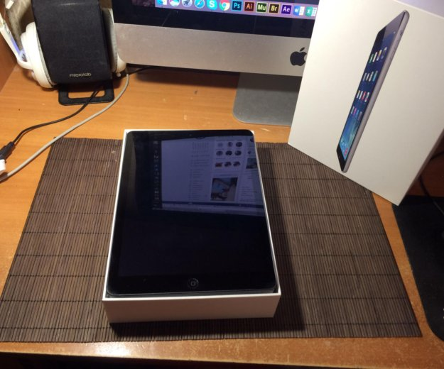 Apple ipad air 64gb wi-fi + cellular. Фото 1.