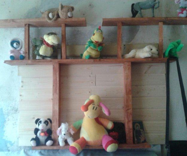 Полочки для игрушок и цветов. Фото 1.