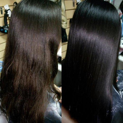 Окрашивание волос. Фото 2. Альметьевск.