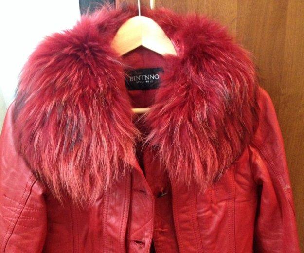 Кожаная куртка. Фото 2. Омск.