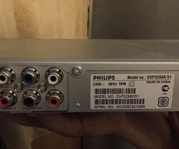 Dvd плеер - караоке philips dvp3266k / 51. Фото 2. Подольск.