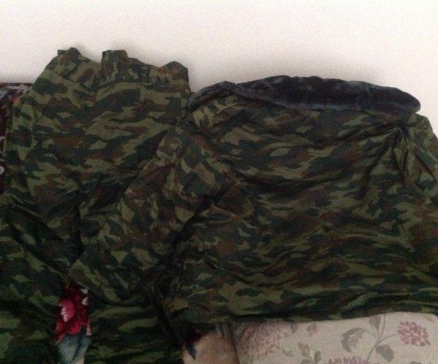 Зимняя камуфлированная одежда. Фото 1. Новосибирск.