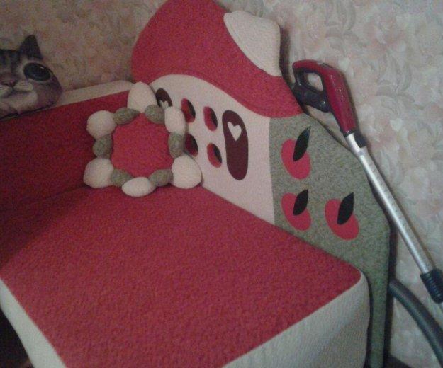 Диван детский раскладной. Фото 3. Железнодорожный.