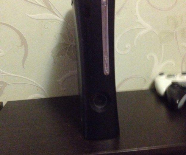 Xdox360 120 gb + 5 игр + 2 джойстика или обмен. Фото 1.