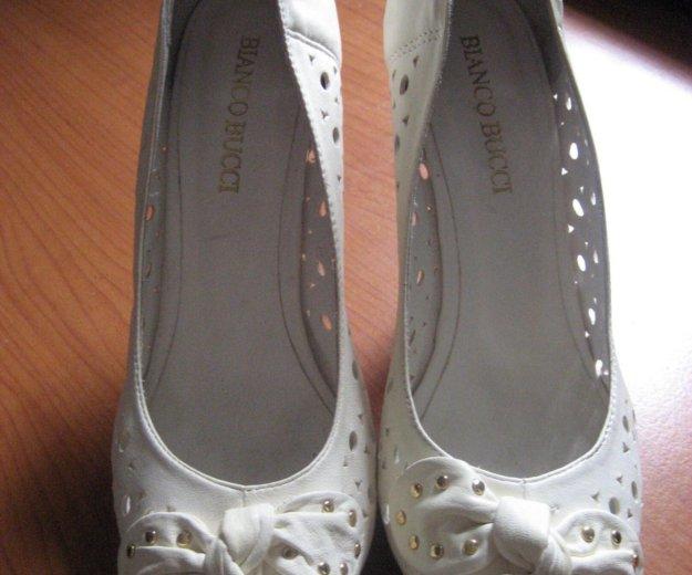 Кожаные туфельки. Фото 1. Малаховка.