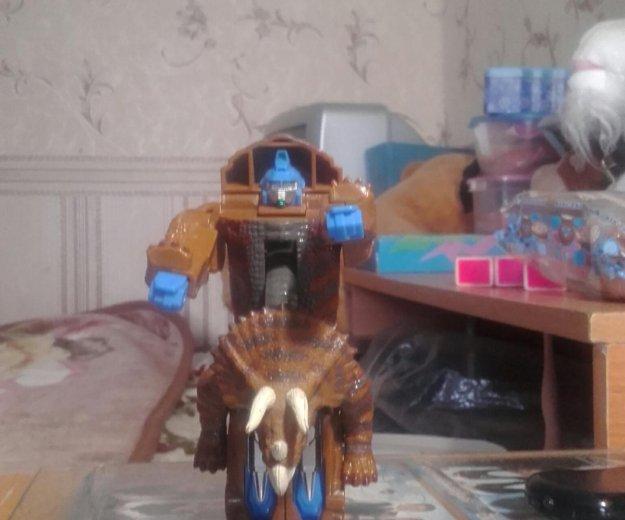 Робот динозавр. Фото 3. Санкт-Петербург.