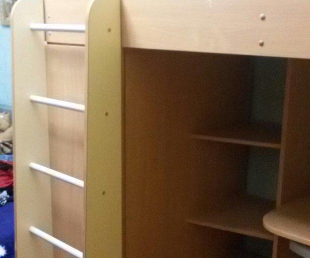 Кровать-чердак +матрац. Фото 3.