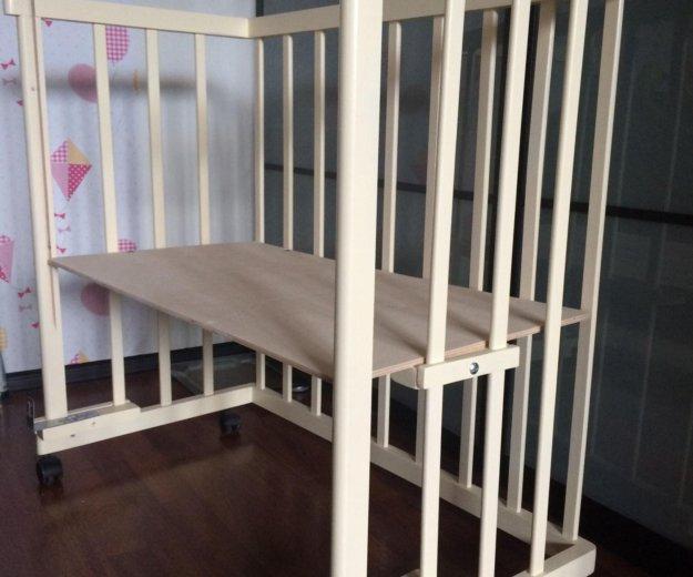 Приставная кроватка кроха. Фото 1. Подольск.