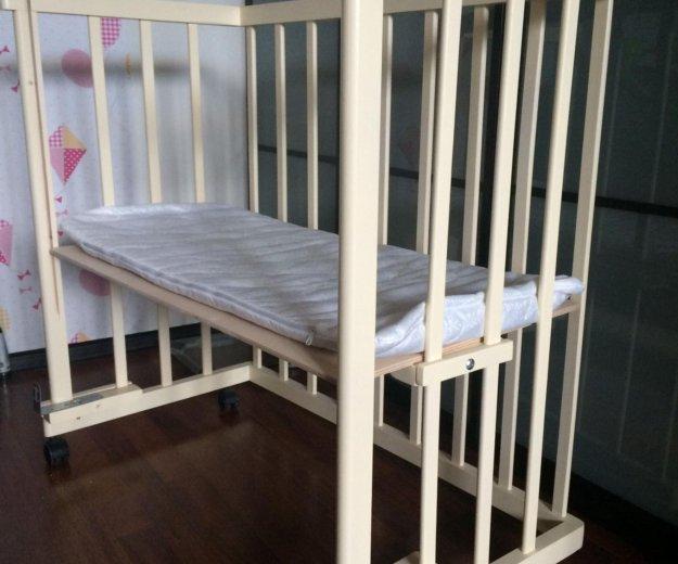 Приставная кроватка кроха. Фото 2. Подольск.
