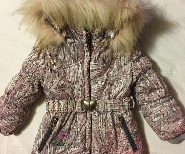Костюм зимний натуральный с двумя штанами. Фото 1. Самара.