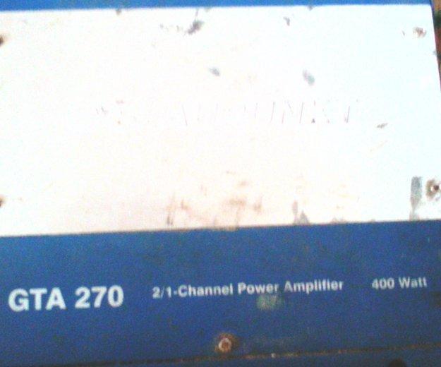 Усилитель blaupunkt gta-270. Фото 4. Угра.