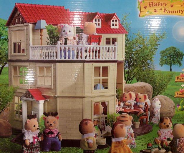 Игрушечный домик для зверей happy family. Фото 1. Москва.