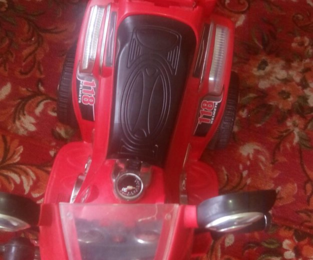 Продам детский мотоцикл на аккумуляторе. Фото 1.