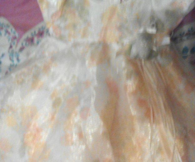 Нарядное платье 6-9мес. Фото 1. Ставрополь.