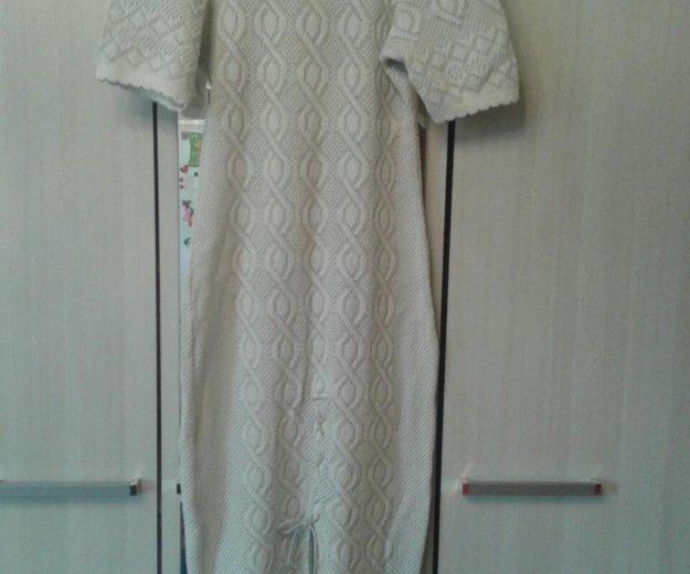Платье бежевый 48размер. Фото 2. Волгоград.