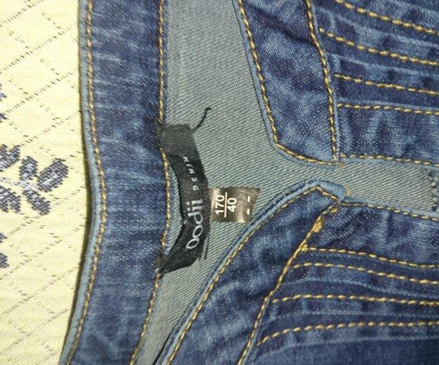 Платье джинсовое,  новое, стрейч.р.48. Фото 2. Туапсе.
