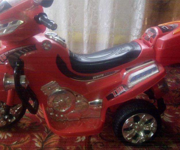 Продам детский мотоцикл на аккумуляторе. Фото 3.