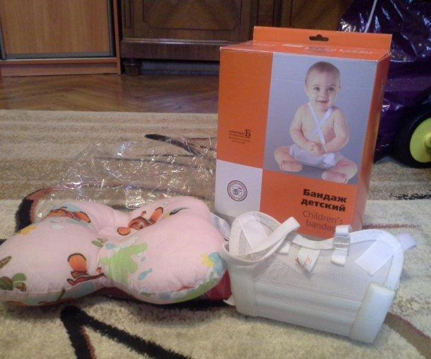 Бандаж детский и подушка ортопедическая. Фото 3. Москва.
