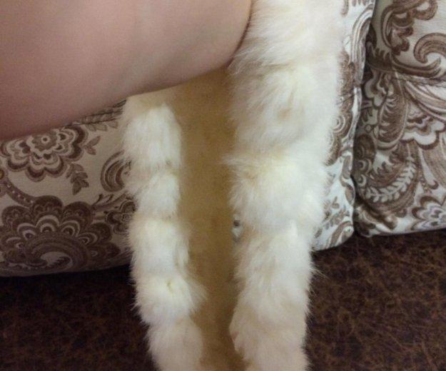 Шарф из кролика. Фото 2. Самара.