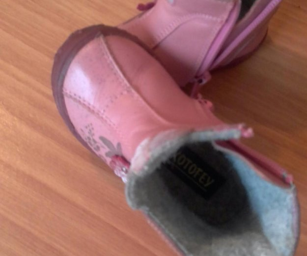 Детские осенние ботиночки 20размер. Фото 2. Магнитогорск.