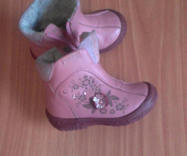 Детские осенние ботиночки 20размер. Фото 3. Магнитогорск.