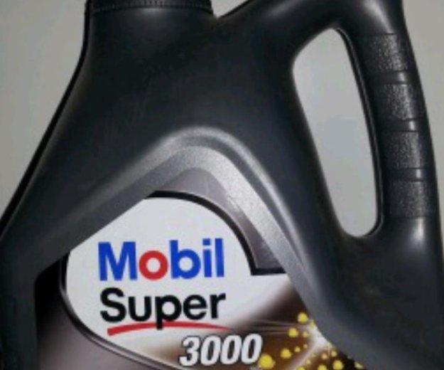 Mobil super 5w-30 4 литра. Фото 1. Красноярск.