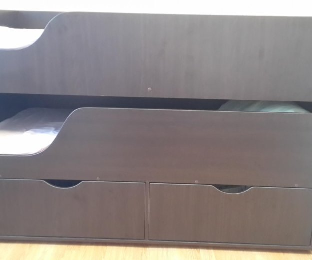 Кровать двухъярусная с матрасами. Фото 2. Краснодар.