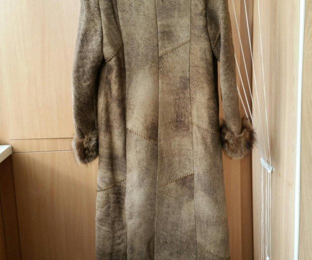 Женская дубленка. Фото 1. Южно-Сахалинск.