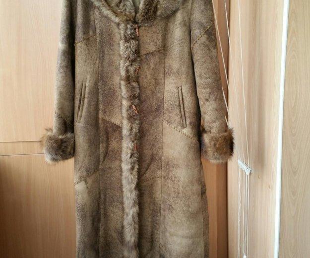 Женская дубленка. Фото 2. Южно-Сахалинск.