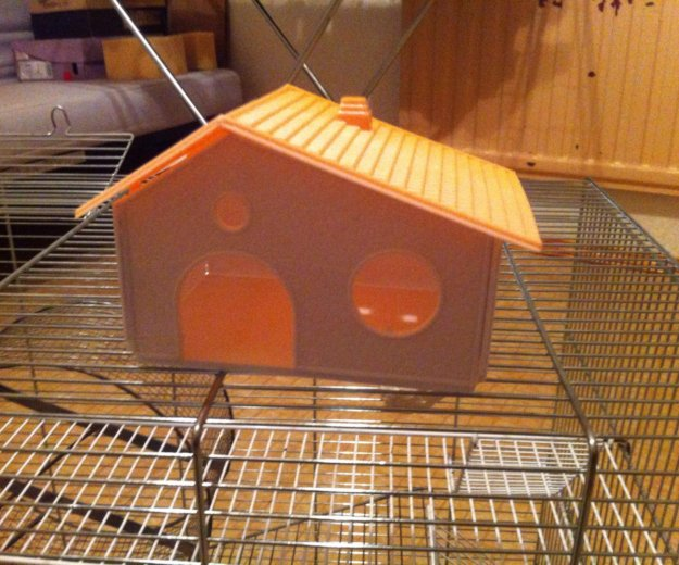 Домик для хомяков. Фото 1.