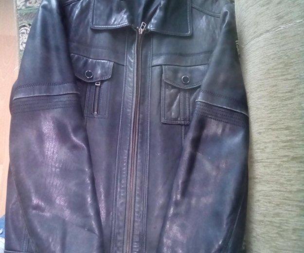 Куртка мужская кожа. Фото 1. Волгодонск.
