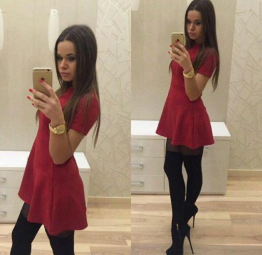 Платье новое. замша. Фото 1. Иркутск.